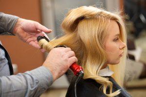 ヘアアイロン,髪の形,変える
