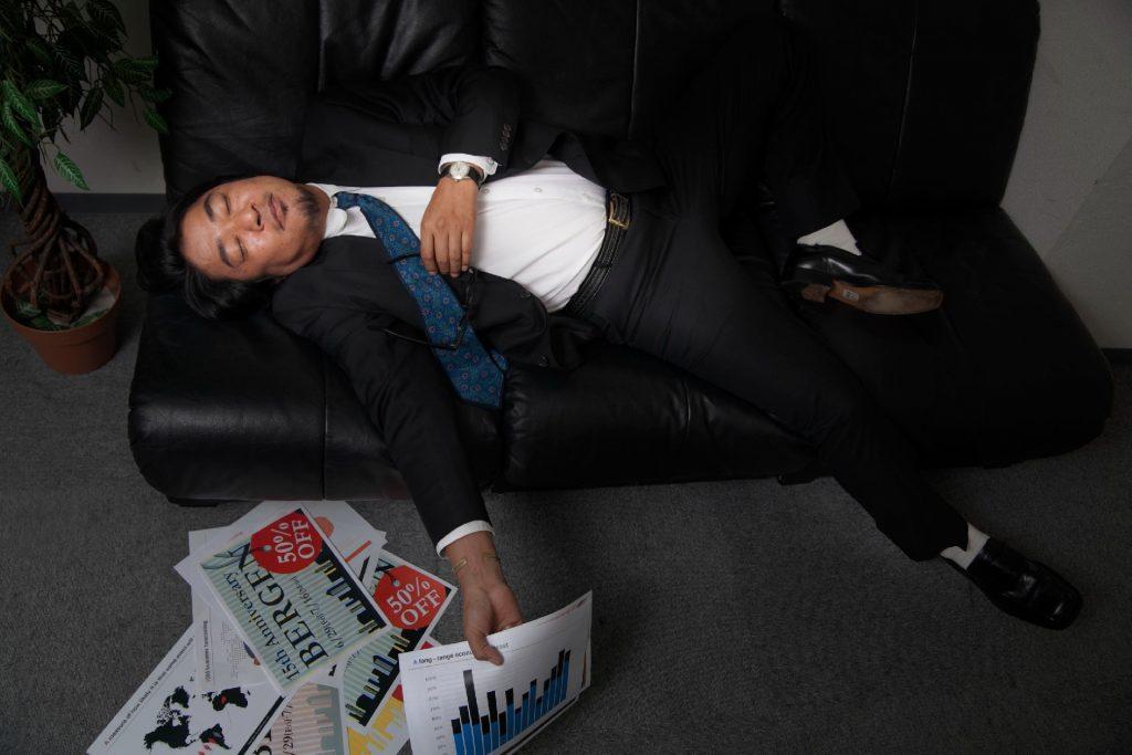 寝落ち,作業,いつの間にか,寝る